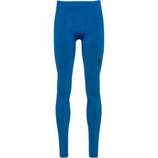 Odlo Bl Bottom Long Performance Warm Funktionsunterhose Herren directoire blue-black