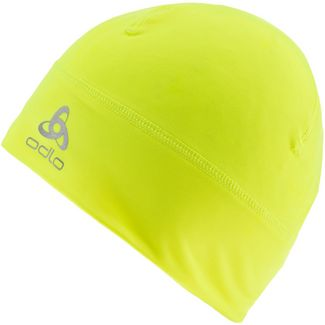 Odlo Polyknit Warm Langlaufmütze safety yellow