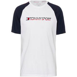 Tommy Sport T-Shirt Herren pvh white
