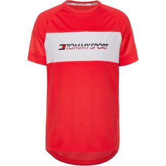 Tommy Sport T-Shirt Herren hibiscus