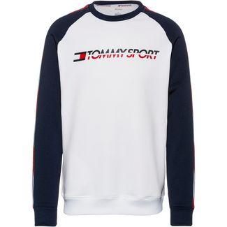 Tommy Sport Sweatshirt Herren pvh white