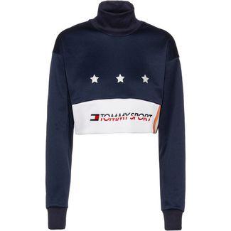 Tommy Sport Langarmshirt Damen sport navy