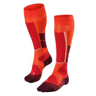 Falke ST4 Wool Skisocken Damen samba orange (8182)