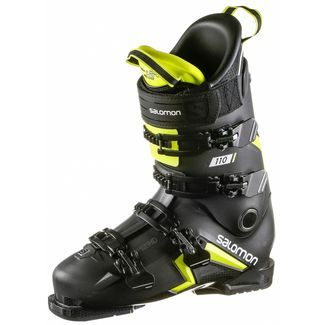 Salomon S/PRO 110 Skischuhe black-yellow