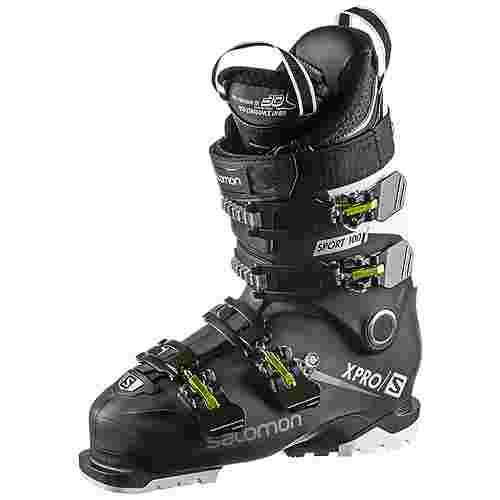Salomon X PRO 100 SPORT Skischuhe Herren black-white