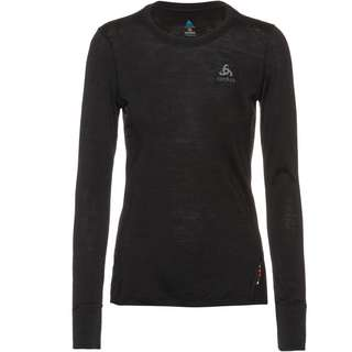 Odlo Merino NATURAL WARM Funktionsshirt Damen black