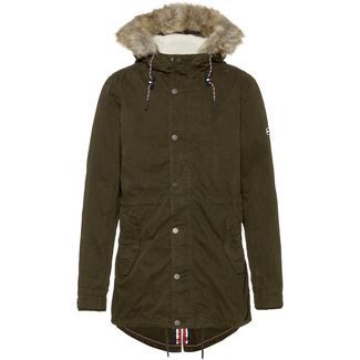 Tommy Jeans Parka Herren forest night