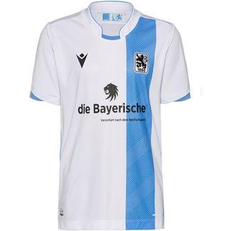 macron TSV 1860 München 19/20 Heim Fußballtrikot Herren weiß