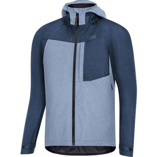 GORE® WEAR GORE-TEX® C5 Trail Fahrradjacke Herren deep water blue