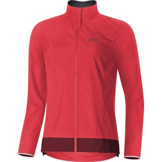 GORE® WEAR C3 Damen GORE® WINDSTOPPER Funktionsjacke Damen hibiscus pink-chestnut red