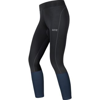 GORE® WEAR R3 Lauftights Damen black-deep water blue