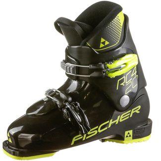 Fischer RC4 20 jr. Skischuhe Kinder schwarz-gelb