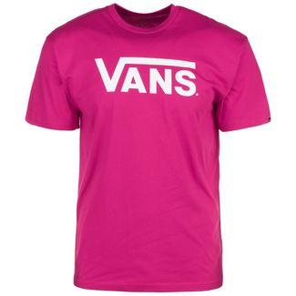 Vans Classic T-Shirt Herren pink / weiß