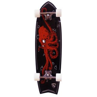 Remember/Luxe/Skatedesign Skate Designs Cruiser Octopus 33'' Longboard bunt
