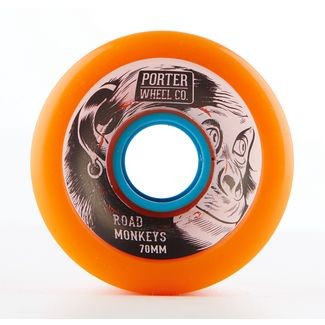 Porter Porter Road Monkey Wheel 70*45mm 80a Longboard bunt