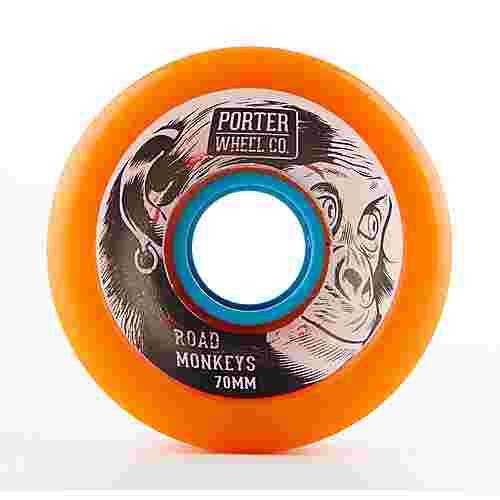 Porter Porter Road Monkey Wheel 70*45mm 80a Longboard bunt