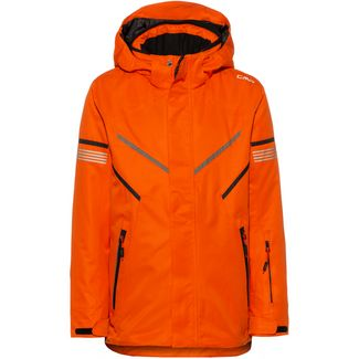 CMP Skijacke Kinder red orange