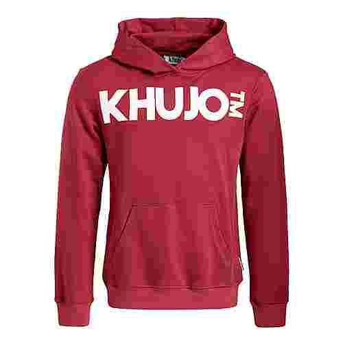 Khujo WINSTON BIG LOGO Sweatshirt Herren rot