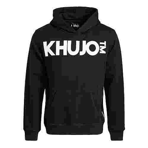 Khujo WINSTON BIG LOGO Sweatshirt Herren schwarz