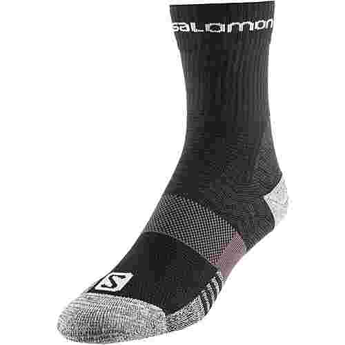 Salomon Outpath MID Wandersocken black-forged iron