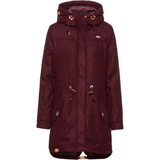 Ragwear Elba A Kurzmantel Damen wine red