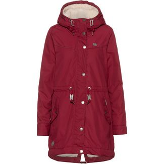 Ragwear Canny Parka Damen wine red