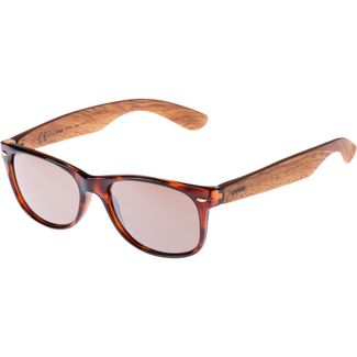 Uvex 1510 Sportbrille havanna wood