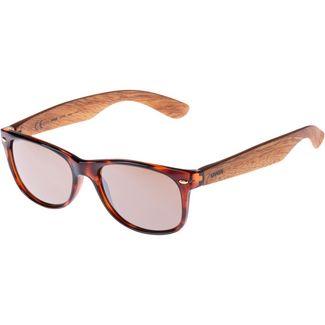 Uvex 1510 Sportbrille havanna wood
