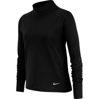 Nike NP Langarmshirt Kinder black-white