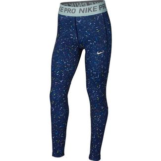 Nike NP Tights Kinder blue-void-blue-void-teal-tint