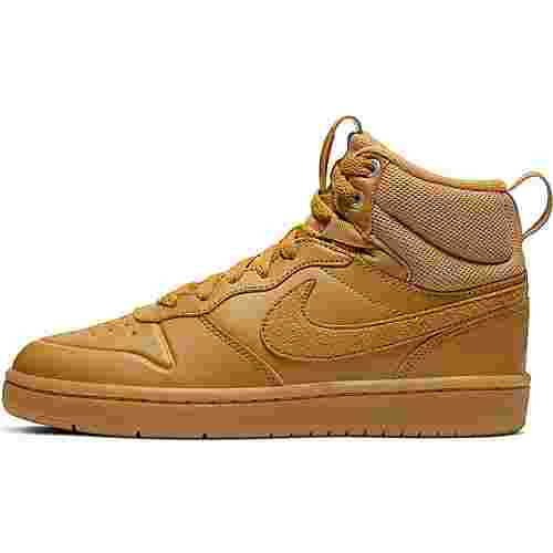 Nike Court Borough Sneaker Kinder wheat-wheat-gum-med-brown