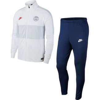 Nike Paris Saint-Germain Trainingsanzug Herren white-midnight navy-university red