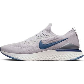 Nike Epic React Flyknit 2 Laufschuhe Herren vast grey-coastal blue
