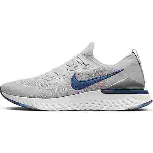 Nike Epic React Flyknit 2 Laufschuhe Herren vast grey-coastal blue