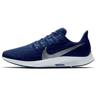 Nike Air Zoom Pegasus 36 Laufschuhe Herren blue void-metallic silver-coastal blue