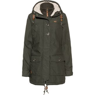Ragwear Jane Parka Damen green