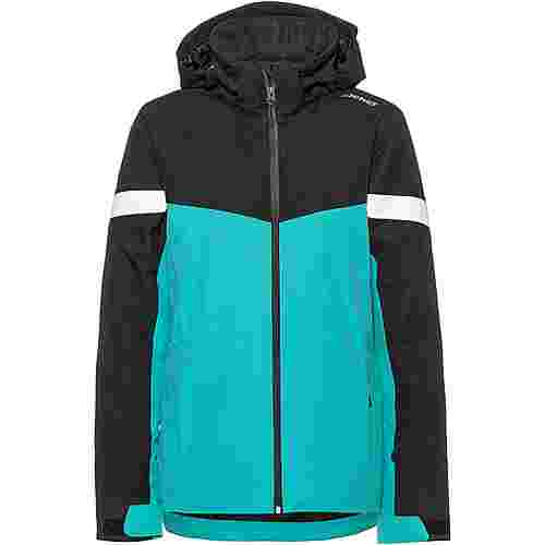 Ziener Pegina Skijacke Damen mermaid green