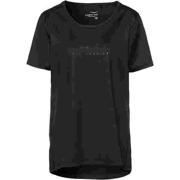 VENICE BEACH Plus Size Funktionsshirt Damen black