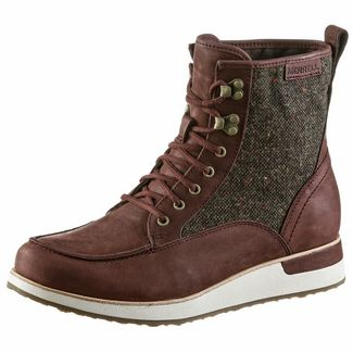 Merrell Roam Mid Winterschuhe Damen raisin