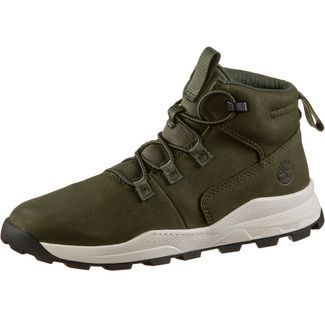 TIMBERLAND Brooklyn Sneaker Kinder dark-green-nubuck