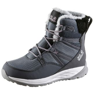 Jack Wolfskin Polar Wolf Stiefel Kinder pebble-grey-off-white