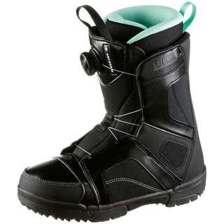 Salomon Anchor Boa Woman Snowboard Boots Damen black-black-opal