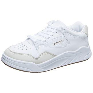 Lacoste Court Slam 319 Sneaker Damen weiß / braun