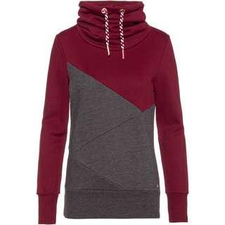 WLD Musiclove Sweatshirt Damen bordeaux-grey