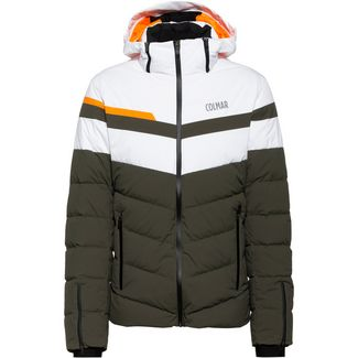 COLMAR Avon Daunenjacke Herren jungle-white-orange