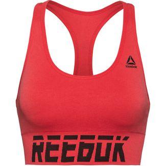 Reebok seamless Sport-BH Damen rebred