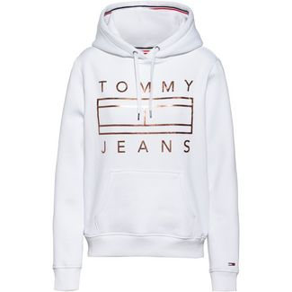Tommy Jeans Hoodie Damen classic white