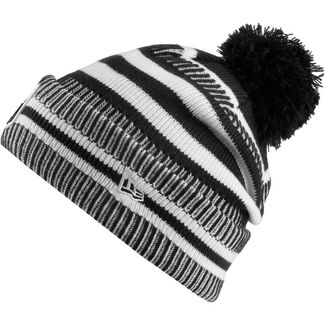 New Era NFL Bommelmütze black-white