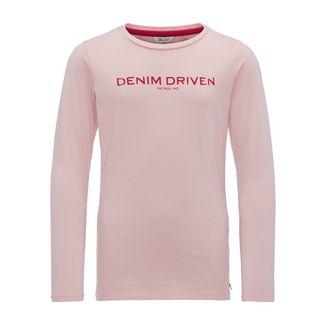 Petrol Industries Langarmshirt Kinder Silver Pink