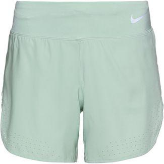 Nike Eclipse Laufshorts Damen pistachio frost-reflective silver
